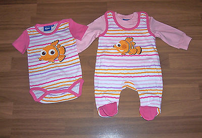 Findet Nemo Baby Kleidung z.B. Socken Strampler Overal Body