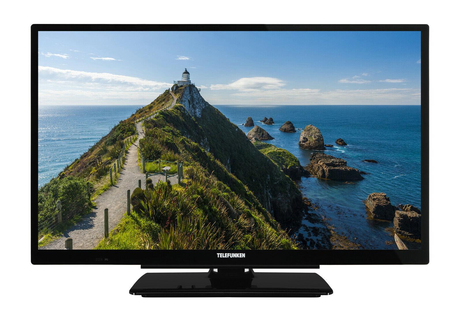 Telefunken XF22G101 Fernseher 22 Zoll Full HD TV Triple-Tuner DVB-C/-T2/-S2