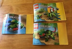Lego Rain forest Animals (3-1 set)