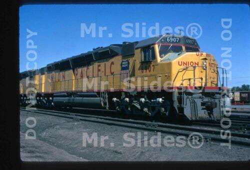 Original Slide UP Union Pacific Centennial DDA40X 6907 In 1970
