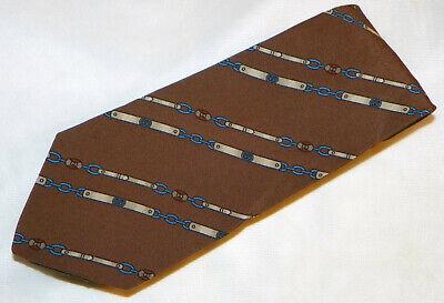 Vintage GUCCI [ MULTI-COLOR ] [ SLIM TIE ] men's tie 100% Silk Made in Italy