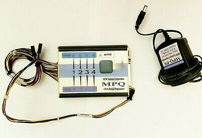 Mpq 4 Port Device Programmer Rpm Systems Corporation Atmel Avr 150408 W Cables