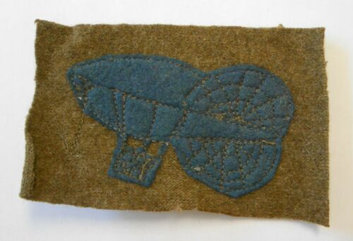 Original WWI WW1 Early Version Balloon Corps Wool Patch 3.75""
