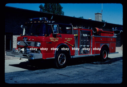 North Palos FPD IL 1979 Ford C Emergency One pumper Fire Apparatus Slide