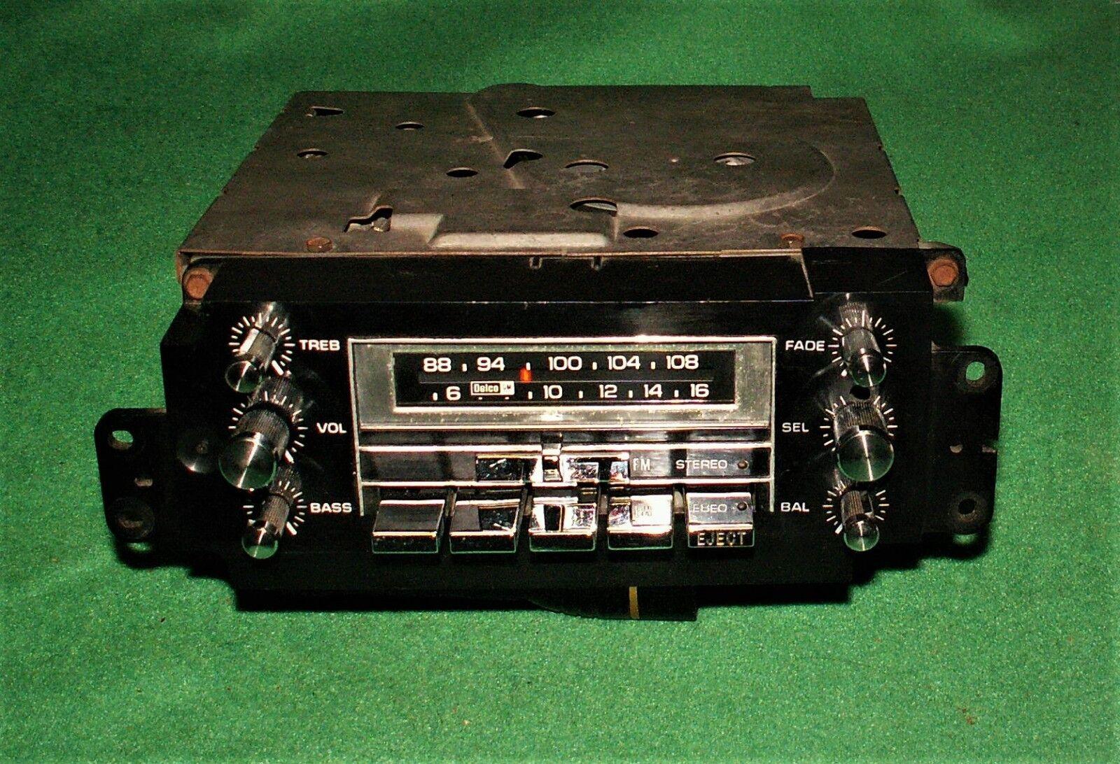 🔥? VERY RARE CHEVROLET BUICK PONTIAC OLDSMOBILE CADILLAC AM FM 8 TRACK MULTIPLEX