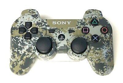 Genuine OEM Sony PS3 Sixaxis DualShock 3 Wireless Controller - Urban Camo