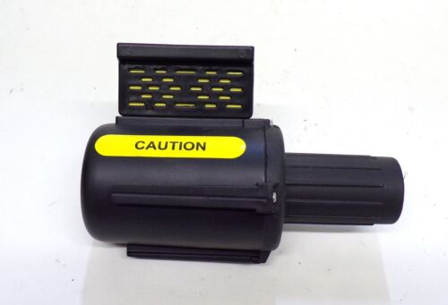 """BANNER STAKES, STANDARD BANNER HEAD, T9F442752, YELLOW """"CAUTION"""""""