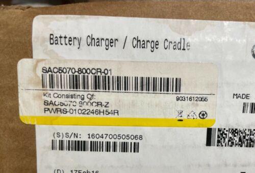 Motorola RS507 Ring 8-Slot Battery Charger - SAC5070800CR - NOB