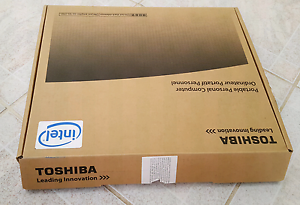 Laptop toshiba satellite i7 processor 512GB SSD 8 GB RAM touch Queens Park Canning Area Preview