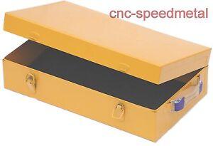 Werkzeugkiste Transportkiste Blechkisten Metallkiste  180 Farbe: gelb
