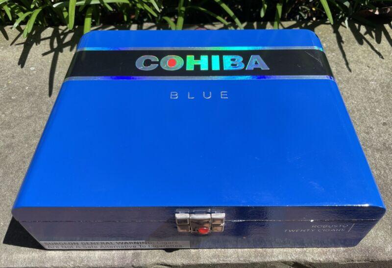 Cohiba Blue Toro Empty Cigar Box
