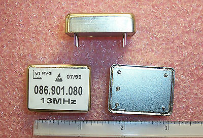 Qty 2 13mhz Oscillators 086.901.080 Vectron Nos