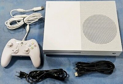 Microsoft Xbox One S 500GB Launch Edition Console Bundle Gaming System 4K HDR