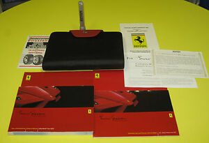 Enzo-Ferrari-2003-COMPLETE-Owners-Manual-Set-ULTRA-RARE-And-FULLY-COMPLETE