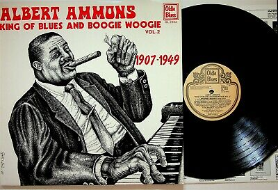 Albert Ammons ‎– King Of Blues And Boogie Woogie Vol.2 LP (Best/Piano) EX