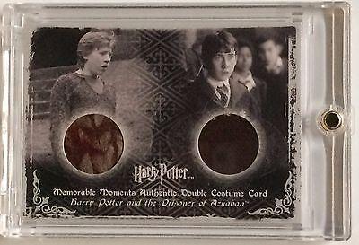 Harry Potter PoA MM Ci3 Ron Weasley Neville Longbottom Dual Costume Card - Neville Longbottom Costume