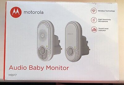 motorola mbp7 wireless audio baby monitor