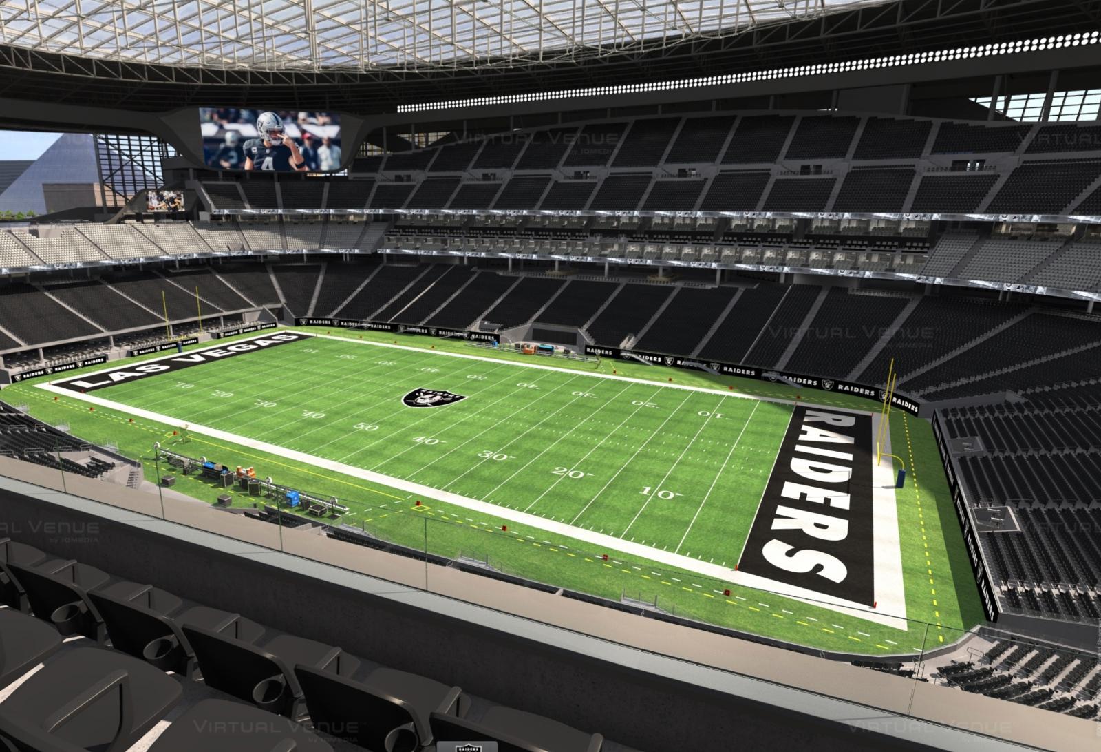 Las Vegas Raiders Vs Chicago Bears 2 Tickets - Section 334 Row 2 Seats 9-10 - $600.00