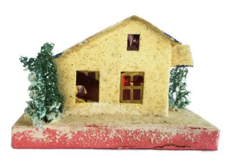 PUTZ Christmas Village House Vintage 1930