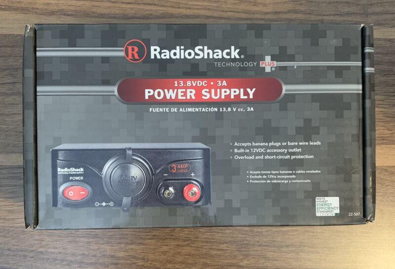 Radio Shack Switching 12 volt Power Supply 22-507 3 Amp 13.8VDC