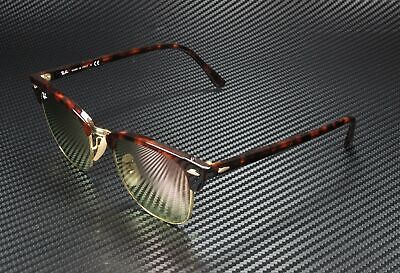 RAY BAN RB3016 990 7O Clubmaster Shiny Red Havana Copper Flash 49 mm (Cheap Ray Ban Clubmaster Glasses)