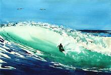ORIGINAL WATERCOLOUR MID YEAR ART CLEARANCE - GREAT SALE Robina Gold Coast South Preview