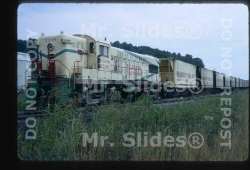 Original Slide Peabody Coal Co. Baldwin AS16 2238 Action In 1972