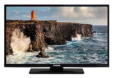 Telefunken XF32D101 Fernseher 32 Zoll Full HD TV Triple-Tuner DVB-C/-T2/-S2 CI+ 32 Hdtv Tv