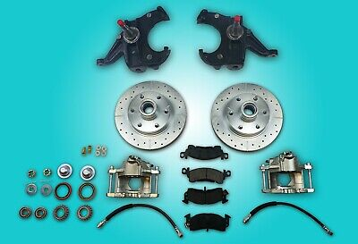 Chevrolet GMC Chevy c10 truck disc brake conversion 6 lug 2.5
