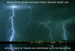 RELAXING SOUNDS THUNDER LIGHTNING RAIN RELAXATION MEDITATION STRESS SLEEP 135