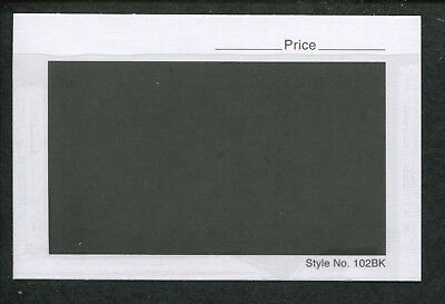 Box of 1000 Count 102BK Dealer Stamp Collector Stock Cards 4-1/4 x 2-3/4