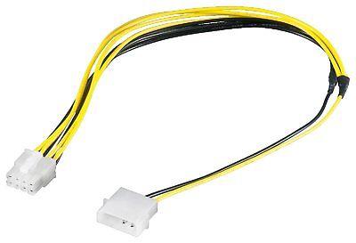 Adaptador Cable Eléctrico Molex 4pol - ></noscript> 8pol #d314