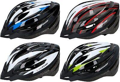 Dunlop Fahrradhelm Kinder & Erwachsene MTB Radhelm Helme Fahrrad Helm Radtour ()