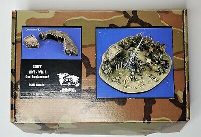 Verlinden Productions 1307 Gun Emplacement WWII 1:35 Scale Tamiya Sand Bags