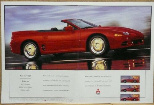 1995 Mitsubishi 3000GT Spyder Print Ad