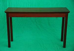 Lovely Handmade solid Jarrah hall or sofa table,CAN DELIVER. Oakford Serpentine Area Preview