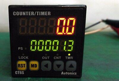 1111 Autonics Digital Countertimer 6-digit 100vac To 240vac Ct6s