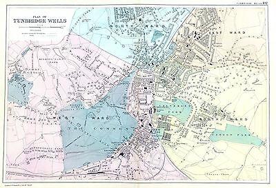 Европа TUNBRIDGE WELLS, 1901 - Original
