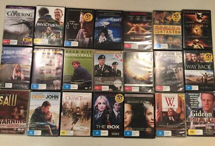 Mixed DVD bundle (21 for $40)