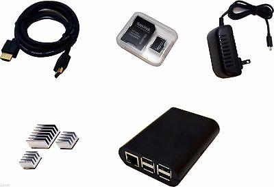 Basic Starter Kit Raspberry Pi 2 Model B 8GB NOOBS Micro SD
