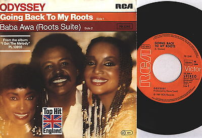 "Odyssey Going back to my roots  Single 7"" 1981 RCA Germa Vin. wie neu Oldies 2,7"