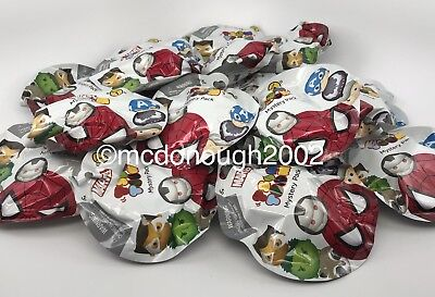 Disney Marvel Tsum Tsum Blind Packs, Series 1 ~Factory Sealed~ Set Of - Blind Packs