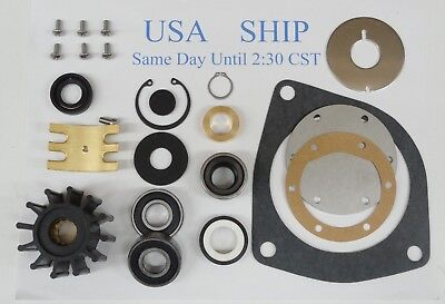 Major Repair Kit Jabsco Pumps 10950-2401 10950-2601 Ford Lehman # 2C48 120 Turbo