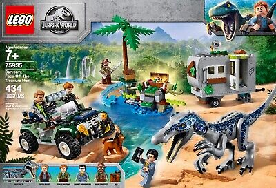 LEGO Jurassic World: Baryonyx Face-Off: The Treasure Hunt (75935) Building Set
