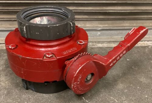 """AKRON 4.5"""" / 6"""" Fire Hose Manual BUTTERFLY Valve 4.50 NH 6.00 NH *"""