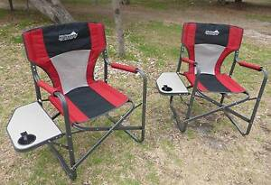 Directors camping chairs x two Beaumaris Bayside Area Preview