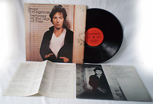 BRUCE SPRINGSTEEN, Darkness On The Edge Of Town, 1978, 1st press