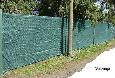 Profi Sichtschutz 1,80m Höhe Länge wählbar! Tennisblende, 200g/m²
