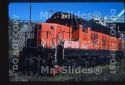 Original Slide Larry Truck & Electric Ex Bessemer & Lake Erie SD9m 847 In 2000