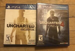 Uncharted 4, Uncharted Collection ps4